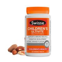 88VIP:Swisse 斯维诗 儿童复合维生素咀嚼片120片