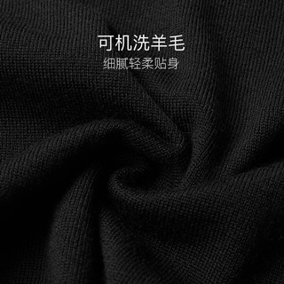 YANXUAN 网易严选 男士100%羊毛V领可机洗羊毛衫