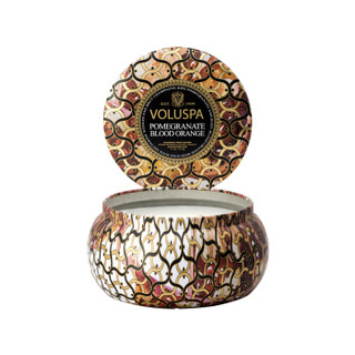VOLUSPA Noir黑色家居系列 金属罐香薰蜡烛 (阿普利亚杏子、113g)