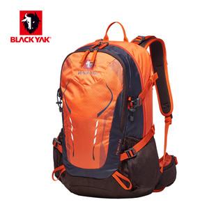 BLACKYAK 2KSBY-SZX723 户外登山徒步双肩包 橘红色 20-35升