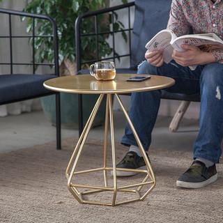 微观世界 17010136 北欧简约茶几小圆桌 50*50cm