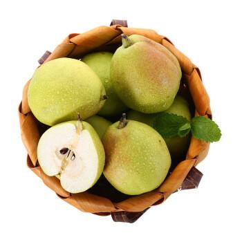 京东生鲜 新疆库尔勒香梨 特级香梨 精选大果 6个装 约750g *11件