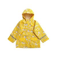 HAS 儿童防水雨衣 黄色独角兽