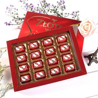 Alfredo 爱芙 樱桃酒心巧克力礼盒装 183g