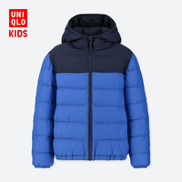 UNIQLO 优衣库 414482 轻型 WARM PADDED 男童连帽外套