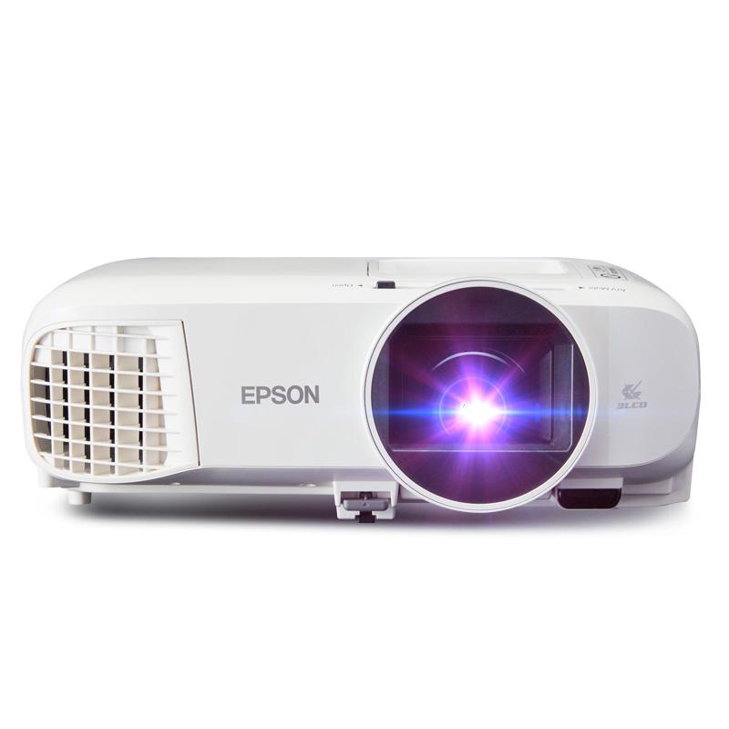 EPSON 爱普生 CH-TW5400 家用全高清投影机 白色官方标配