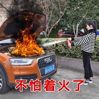 淮海 MFJ500 车载手提式干粉灭火器套装 红色 0.5公斤