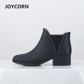 JOYCORN jc18 女士短筒橡胶雨鞋