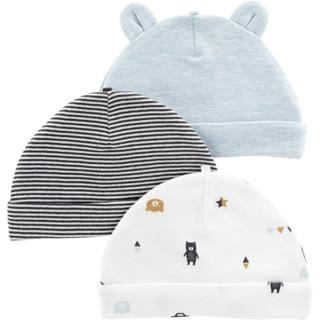 Carter's 新生儿帽子三件装