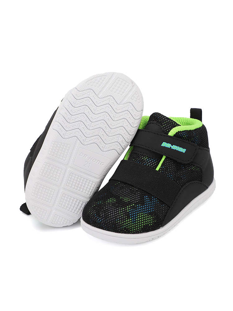 Dr.kong 江博士 宝宝步前鞋 B13184W002 黑/绿 #19