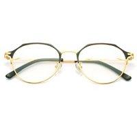 HAN 汉 中性防疲劳防蓝光套镜  HN41036 黑金色 镜框+1.60防蓝光镜片(适应200-600度)