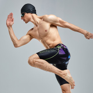 hosa/浩沙 218141502 男士五分泳裤