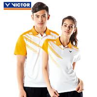 VICTOR 威克多 T-70020 男女羽毛球短袖T恤