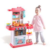 beiens 贝恩施 888-16 儿童厨房过家家玩具 出水款 殷红色(33件套)