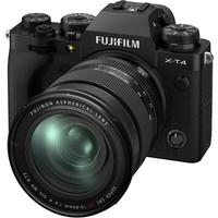 FUJIFILM 富士 X-T4 微单相机 套机(XF16-80mmF4 R OIS WR 镜头)