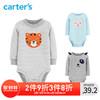 Carters 男女宝宝长袖连体衣