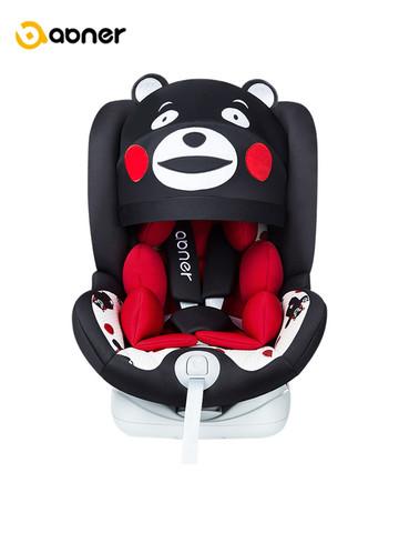 Ab.ner 阿布纳 AB007 熊本熊安全座椅  约0-12周岁 Isofix接口
