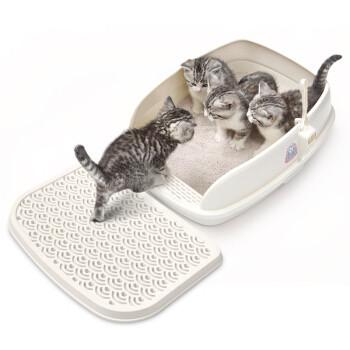 CATIDEA 猫乐适  宠物猫砂盆 小号 送漏沙踏板