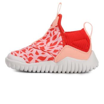 adidas 阿迪达斯  RapidaZen I B96351 女婴童训练鞋 粉色/红色 27
