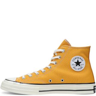 CONVERSE 匡威 all star 70s系列 中性运动帆布鞋 162054C 黄色 36.5