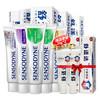 SENSODYNE 舒适达 多重抗敏牙膏套装600g(美白100g+多效100g+牙龈100g+薄荷120g×2+便携装×3)