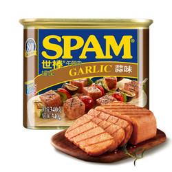 SPAM 世棒 午餐肉蒜味 340g *9件