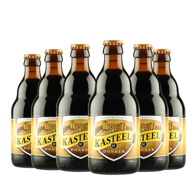 KASTEEL 卡斯特 DONKER 黑啤酒 330ml*6瓶