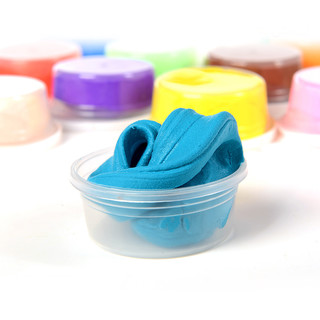 聪乐美超轻粘土橡皮泥彩泥3d套装环保正品太空泥黏土24色收纳盒装豪华版