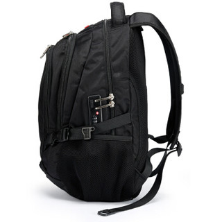 CROSSGEAR 中性款防盗双肩包 CR-9001 黑色 15.6英寸升级版