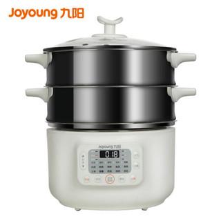 九阳(Joyoung)电蒸锅13L大容量电 煮锅 家用自主调节食品级不锈钢电火锅R100-C10