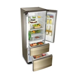 Casarte 卡萨帝 BCD-435WDCAU1 变频风冷多门冰箱 435L 金色布伦斯