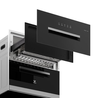VIOMI 云米 ZTD100A-1 嵌入式消毒柜  晶黑