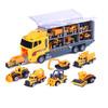 悦臻 儿童工程车玩具模型 货柜模型车