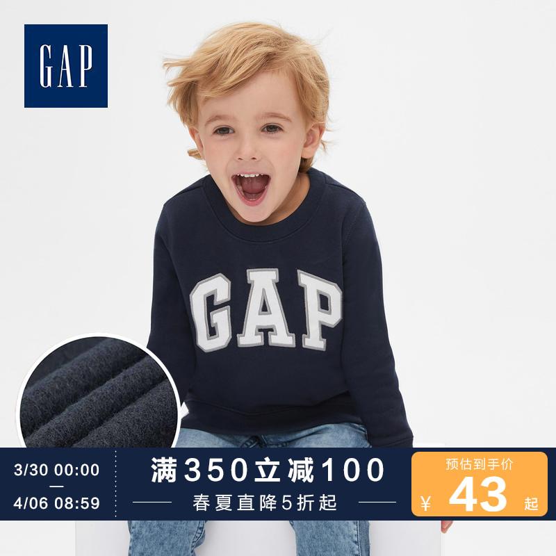 Gap 盖璞 416759 W E 男婴徽标卫衣