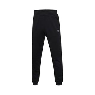 LINING李宁正品 新款男子篮球系列卫裤男裤 AKLM103-2-3-5 (2XL、深花灰/黑)