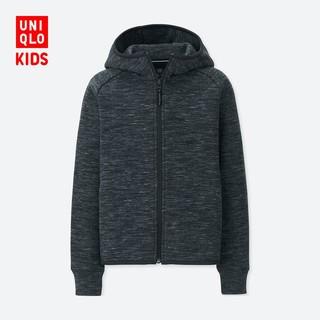 UNIQLO 优衣库 男女童弹力运动连帽外套