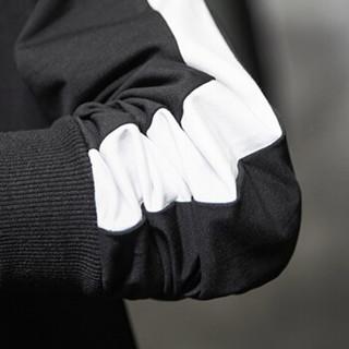 北极绒 Bejirong 男士加绒保暖卫衣 (1885白色、3XL)
