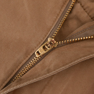 UNIQLO 优衣库 408495 男士水洗无褶长裤 (深绿色、72A)