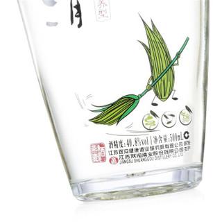 双沟莜清 口感绵柔浓香型白酒 40.8度 500ml*6瓶