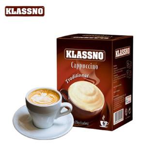 KLASSNO 卡司诺 卡布奇诺即溶咖啡 150g*2盒套装(金牌+爱尔兰咖啡)