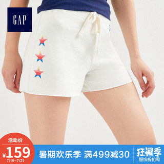 Gap 盖璞 308082 烫金徽标休闲短裤