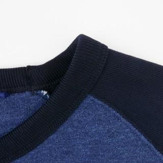 UNIQLO 优衣库 410404 男士卫衣  (海军蓝、S)