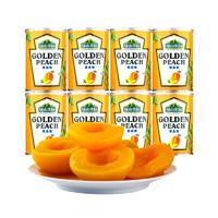 绿山果园 黄桃罐头 425g*8罐