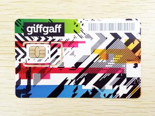 Giffgaff电话卡