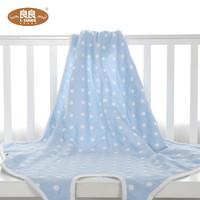 L-LIANG 良良 婴儿棉质纱布襁褓巾