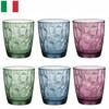 Bormioli Rocco 波米欧利洛克·钻石系列 三色水杯 390ml 6只装