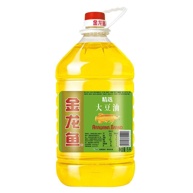 金龙鱼 精选 大豆油 5L