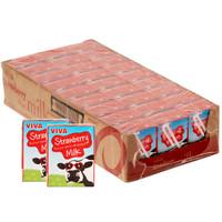 VIVA 韦沃 草莓牛奶 200ml*27盒