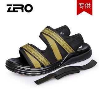 ZERO Z82095 男士休闲凉鞋 黄织带 41