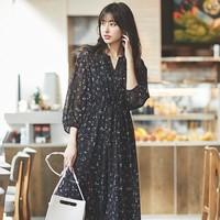 UNIQLO 优衣库 426611 女士雪纺连衣裙